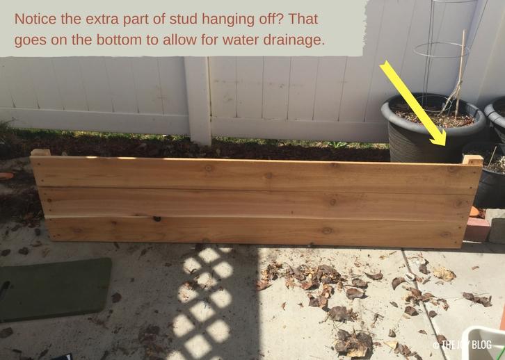 DIY Cedar Raised Beds For Your Patio Garden // www.thejoyblog.net