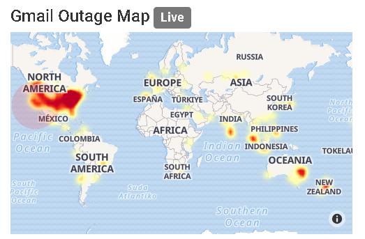 Dân công sở chết lặng khi gmail bị lỗi không thể gửi được sáng nay