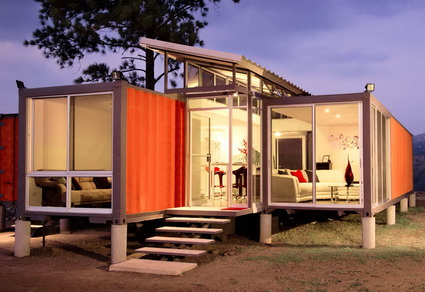 Decorate a Container Homes Kits Ideas 1