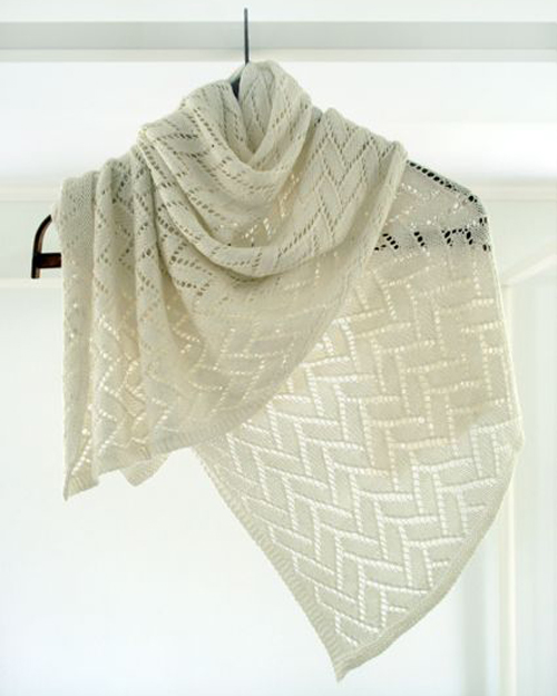Bamboo Wedding Shawl - Free Pattern