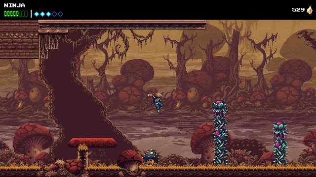 The Messenger - Mushrooms swamp