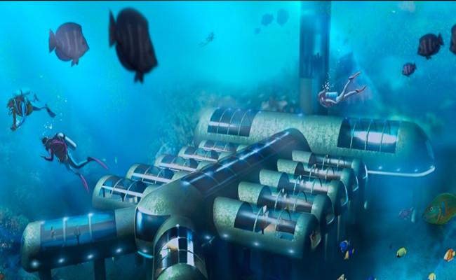 El primer hotel nave submarina ya tiene patente for Como se llama el hotel que esta debajo del mar