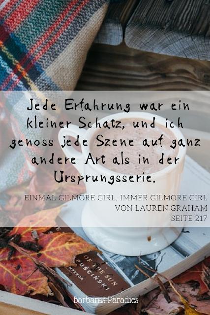 Buchrezension #187 Einmal Gilmore Girl, immer Gilmore Girl von Lauren Graham