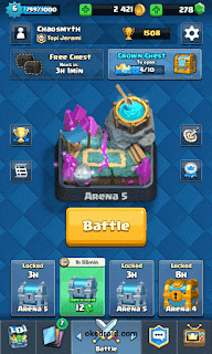 Arena 5 Clash Royale Android