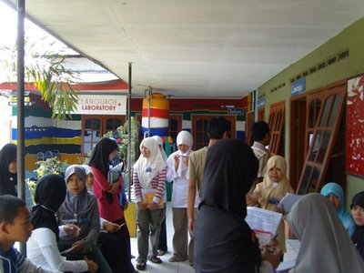 Foto Suasana Belajar di Lembaga Mahesa Institute
