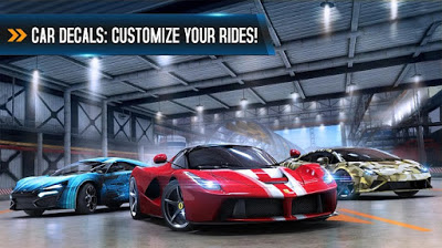 Asphalt 8 Airborne v2.3.0i Mod Apk+DATA Unlimited All
