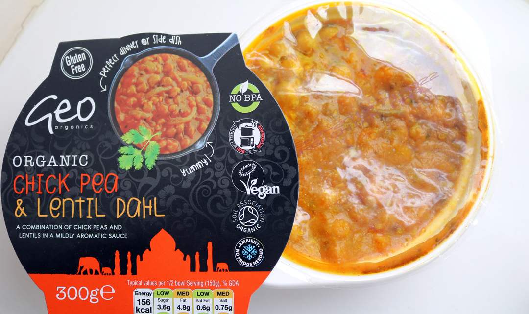 Geo Organics Chickpea and Lentil Dahl