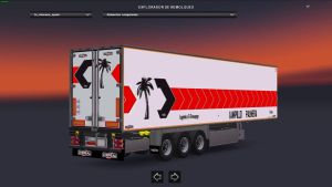 Chereau Trailers Pack with Spanish Agencies