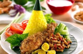 Resep Paket Nasi Kuning Lengkap