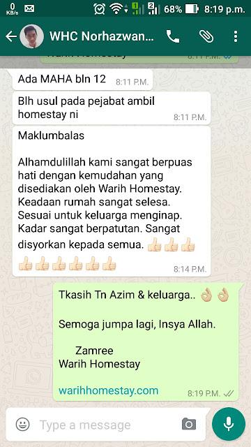 Warih-Homestay-Testimoni-Tn-Azim