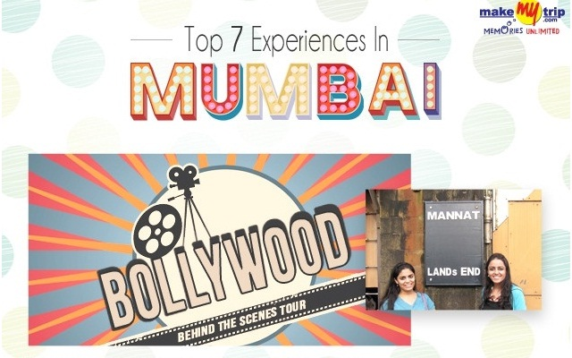 Image: Top 7 Experiences In Mumbai #infographic
