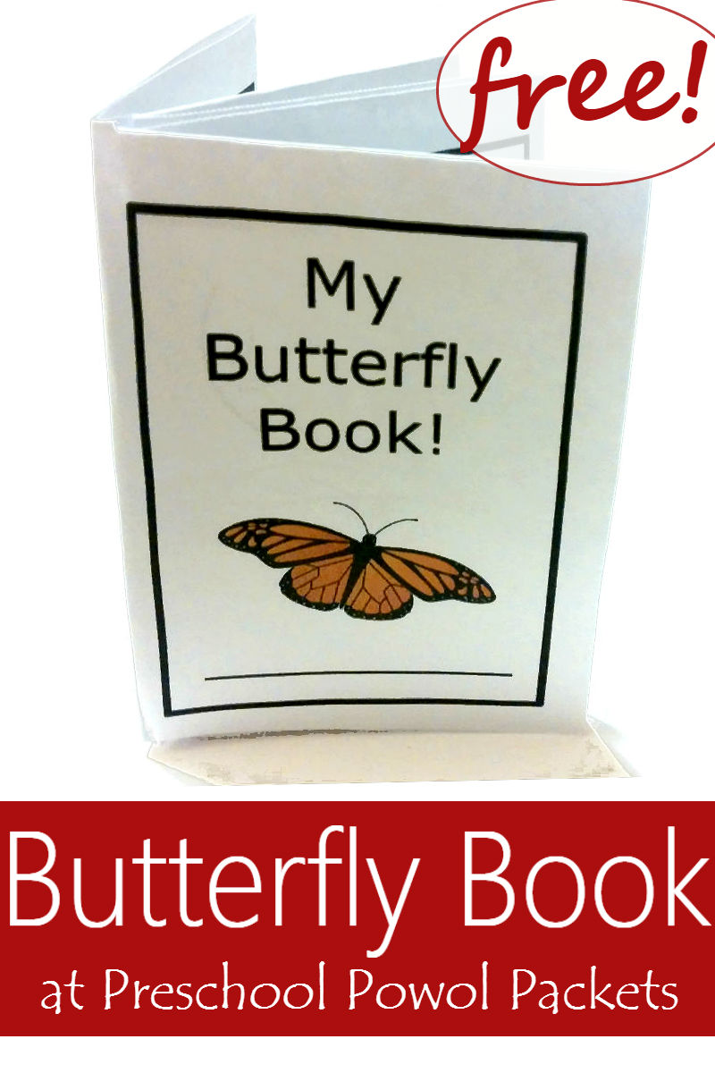 image regarding Butterfly Life Cycle Printable Book named My Butterfly Ebook Free of charge!! Preschool Powol Packets