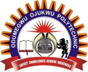 Ojukwu Poly Pre-ND/HND Admission Form 2017