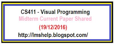 CS411 Midterm Current Paper