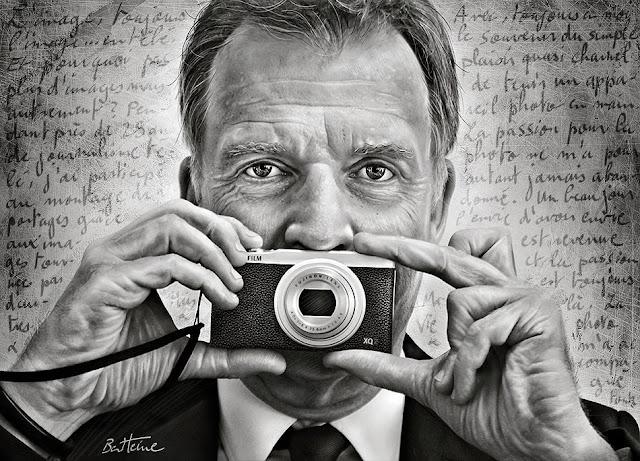 François de Brigode - Photographe Journaliste et Présentateur journal RTBF - Portrait par Ben Heine 2017
