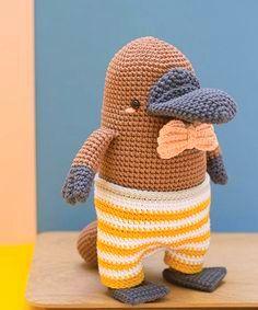 amigurumi platypus crochet pattern