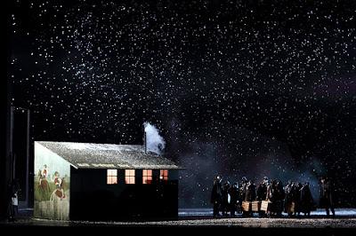 La bohème, The Royal Opera - © ROH 2017. Photograph by Catherine Ashmore.