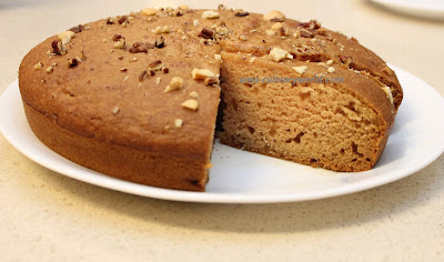 Egg less Apple Sauce Cake