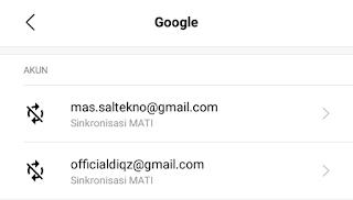 cara logout gmail di hp selesai