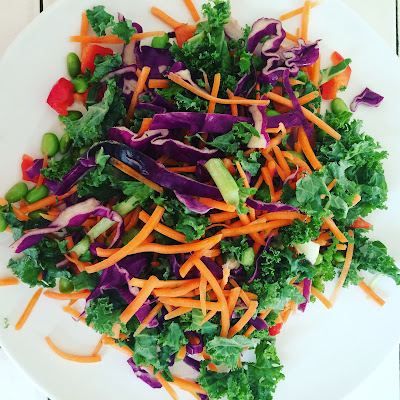 Chopped Power Green Salad from Terra's Kitchen