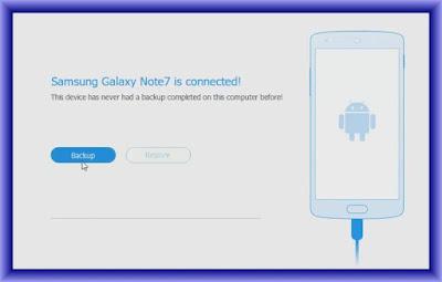 Samsung Galaxy Note 7 Backup