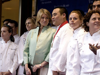 Martha Stewart and David Chang