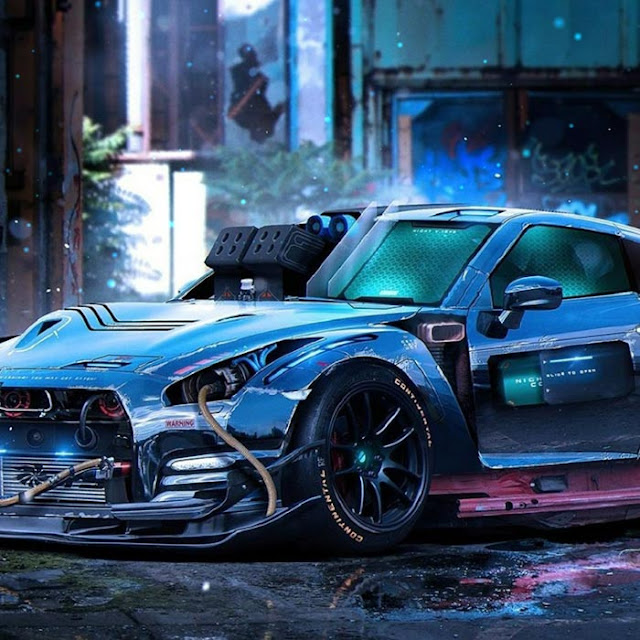 Nissan Art 2 Wallpaper Engine