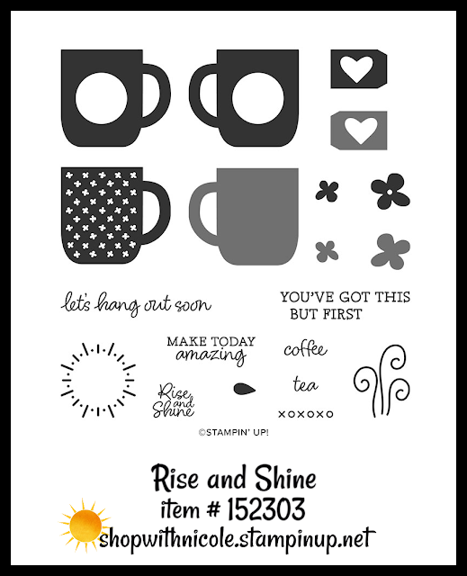 Rise and Shine stamp set | item 152303 | Stampin' Up! Sale-A-Bration second release level 2 item