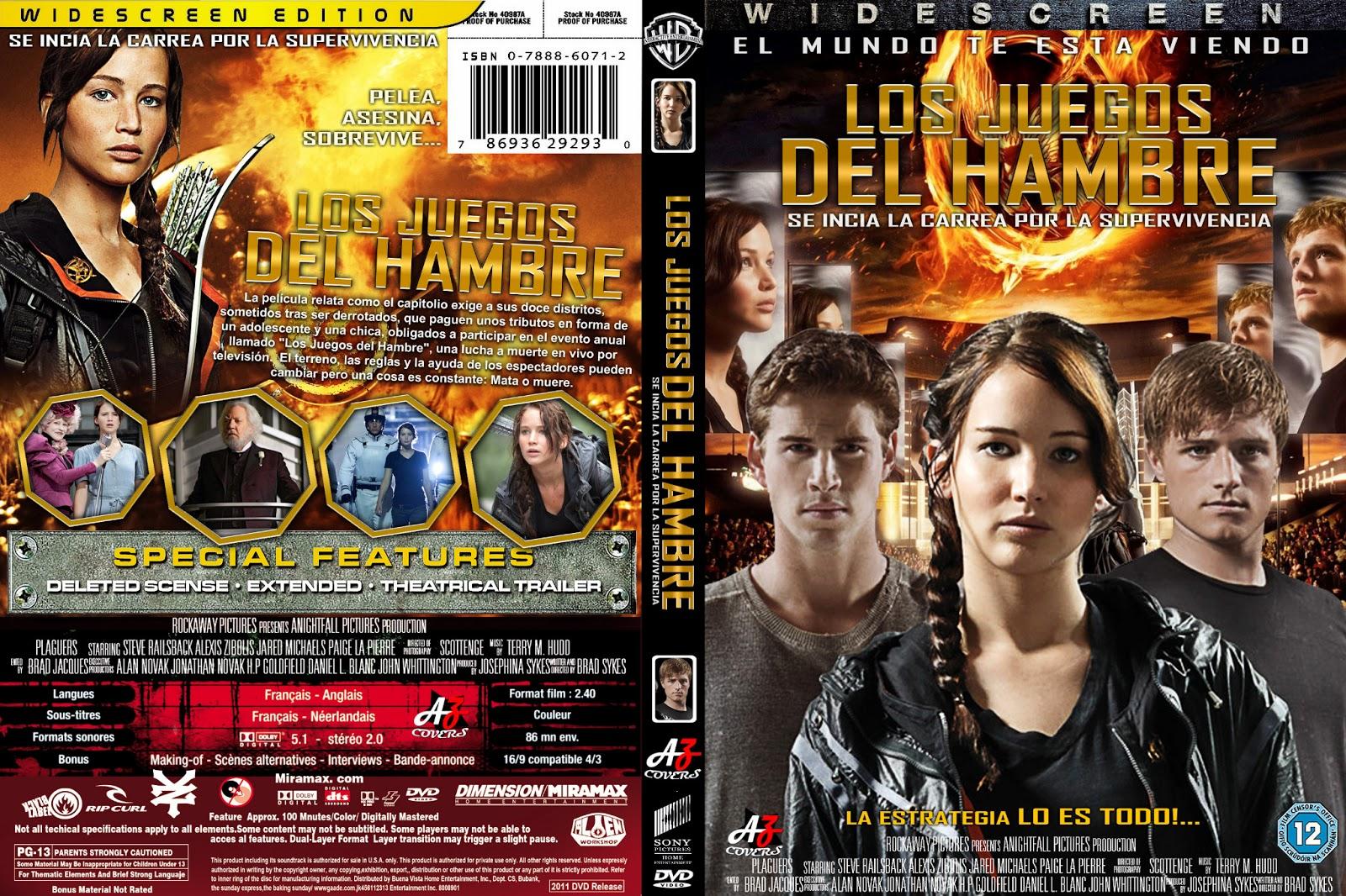 Bluraycovershd Los Juegos Del Hambre The Hunger Games V 1 2 3