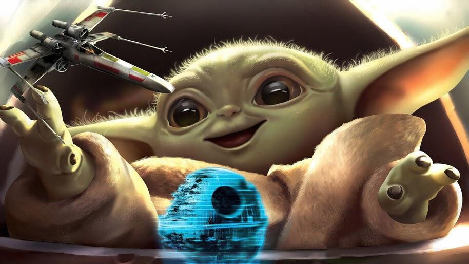 Baby Yoda, 4K, #7.760