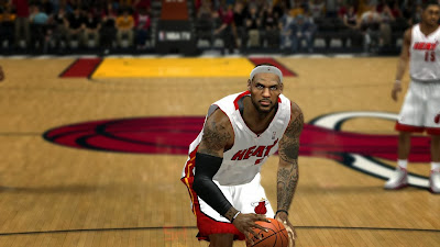 NBA2K14 LeBron James Cyberface Patch