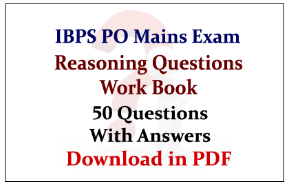 Ibps Questions And Answers Pdf