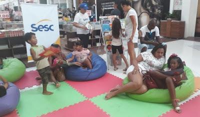 """Projeto """"Ponto de Leitura"""" do SESC estará no Caxias Shopping"""