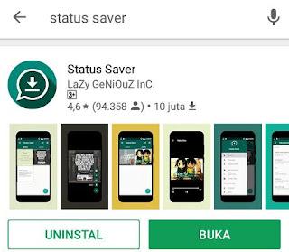 Saat melihat status WhatsApp sahabat biasanya ada yang keren Cara Download Status WA dengan Mudah, Ini Aplikasinya!