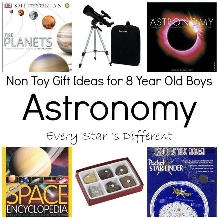 Non Toy Gift Ideas for 8 Year Old Boys - Every Star Is Different
