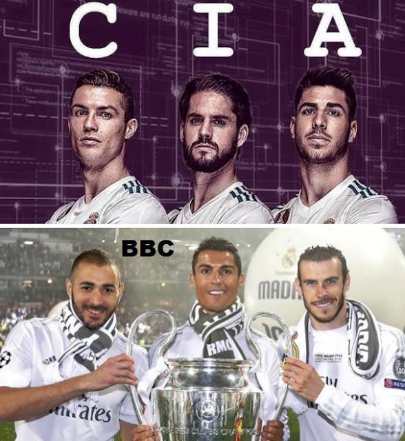 La CIA, el nuevo tridente letal del Real Madrid