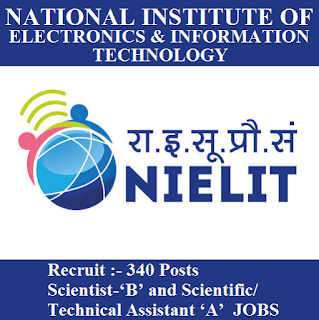 National Institute of Electronics and Information Technology, NIELIT, NIELIT Admit Card, Admit Card, nielit logo