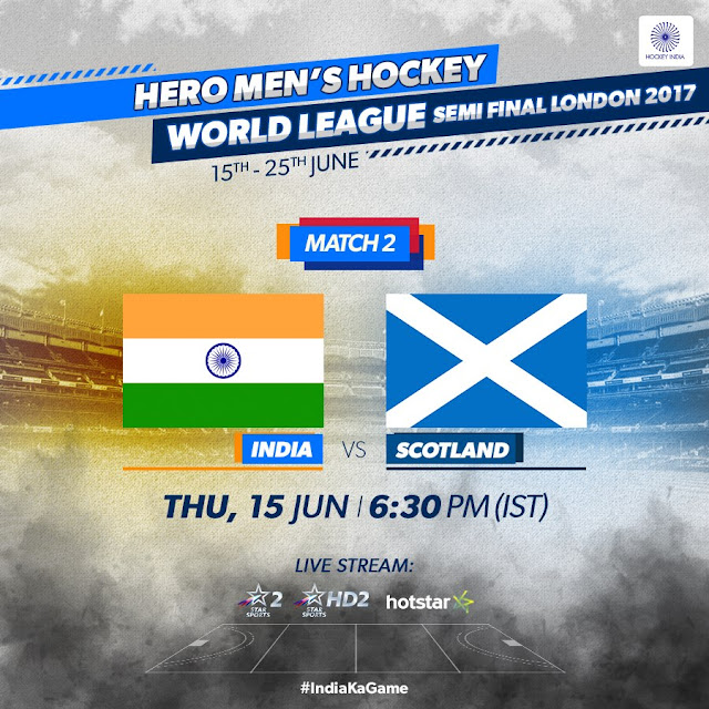 HWL Semi final 2017: India vs Scotland
