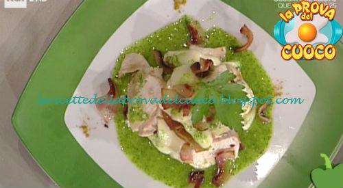 Millefoglie di pollo e caciocavallo ricetta Gandola da Prova del Cuoco