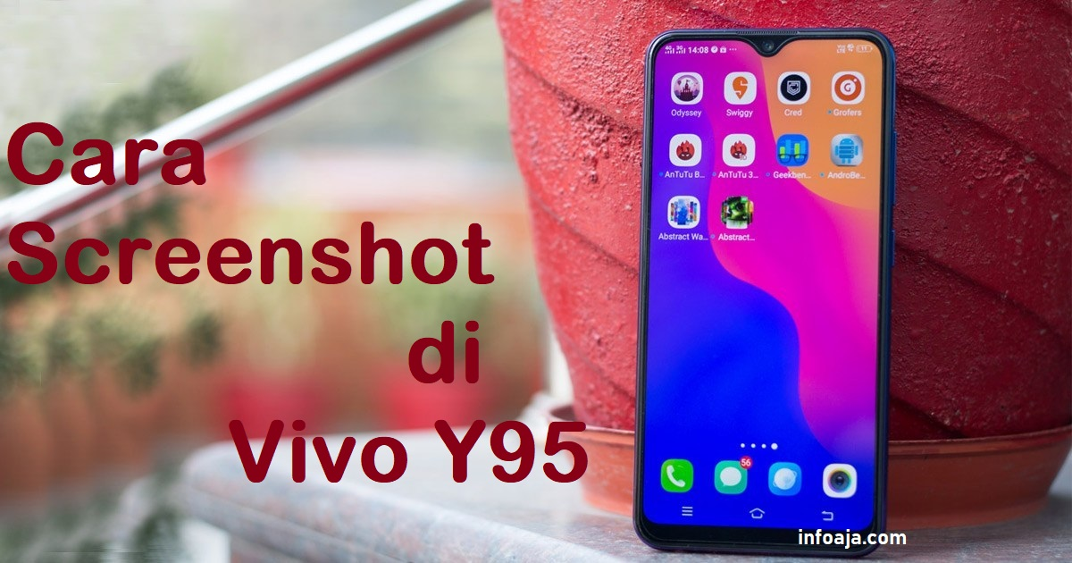 Cara Screenshot VIVO Y95