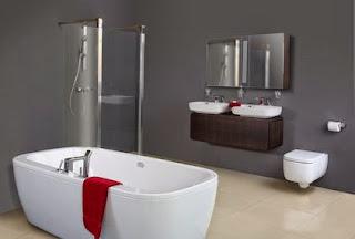 La salle de bains  الحمام بالفرنسية