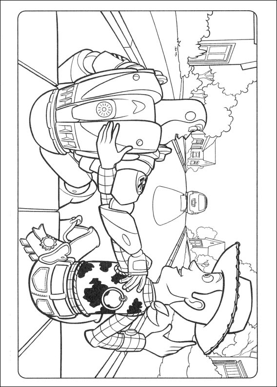 1000+ images about Coloring Pages {Toy Story} on Pinterest