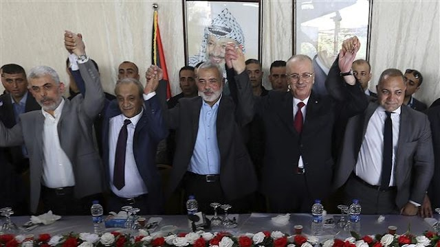 Rival Palestinian factions Hamas, Fatah resume reconciliation talks in Cairo