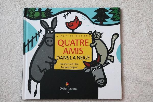 livre d'hiver pour enfant