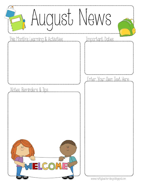 NewsletterAugust Teacher Newsletter Templates Free on teacher checklist template, fingerprint tree teacher gift template, free teacher brochure, free teacher clip art, free teacher business card, free teacher powerpoint templates, free teacher fonts, tree no leaves template, free teacher lesson plan book, training evaluation survey template, free teacher cartoons, free templates for teachers, free teacher graphics, cartoon tree powerpoint template, teacher anecdotal notes template, cute list template, blank chart template,