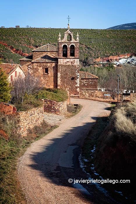 Localidad de Madriguera. Sierra de Ayllón.Segovia. Castilla y León. España. © Javier Prieto Gallego.