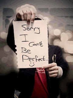 can't be perfect