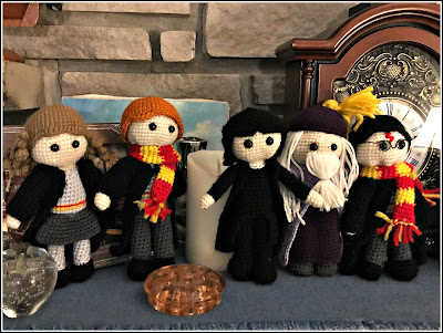 "November 7, 2018 November 7, 2018 Snape has now joined the group of figurines.  ""If only life could be a little more tender and art a little more robust ~ Alan Rickman"