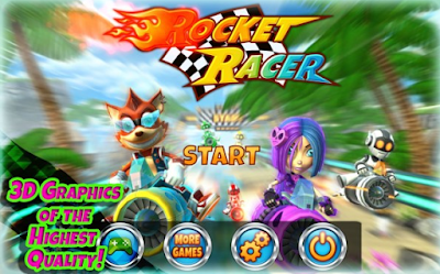 Download Rocket Racer v1.0.5 for Android