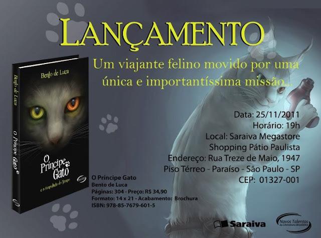 Evento: O Principe Gato e a Ampulheta do Tempo. 18